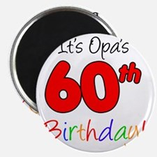 Opa 60th Birthday Magnet