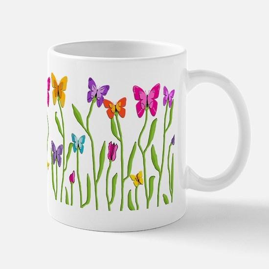 Butterfly Buds Teapot Mug