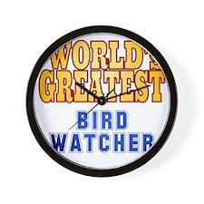 World's Greatest Bird Watcher Wall Clock
