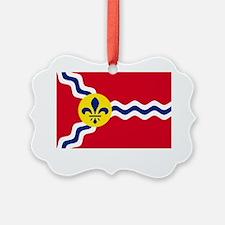 St. Louis Flag Ornament