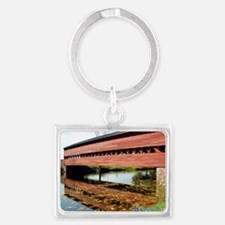 Greeting Card - Autumn at Sachs Landscape Keychain