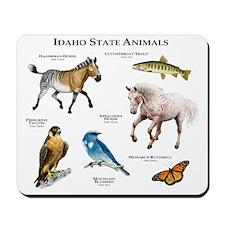 Idaho State Animals Mousepad