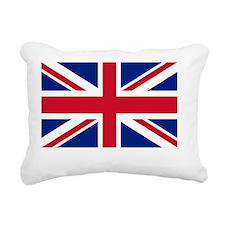 London Flag Rectangular Canvas Pillow