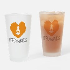 Feed The Kids Campagin Drinking Glass