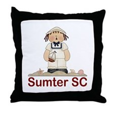 Sumter South Carolina Throw Pillow