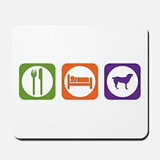 Eat Sleep Entlebucher Mousepad