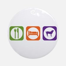 Eat Sleep Entlebucher Ornament (Round)