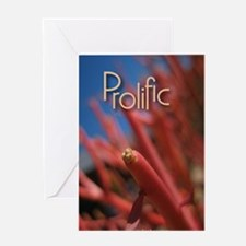 Prolific Journal Greeting Card