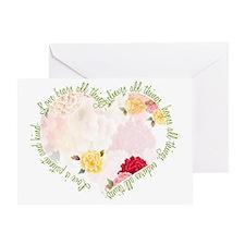 heartflowers1 Greeting Card