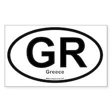 GR - Greece oval Decal