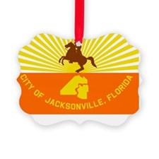 Jacksonville Flag Ornament