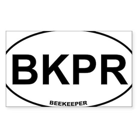 BKPR Beekeeper Sticker (Rectangle)