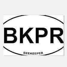 BKPR Beekeeper Postcards (Package of 8)