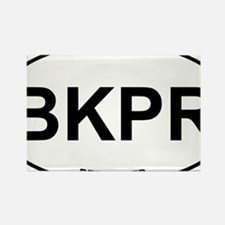 BKPR Beekeeper Rectangle Magnet