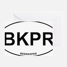 BKPR Beekeeper Greeting Card