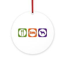 Eat Sleep Estrela Ornament (Round)