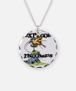 Disc Golf EXPLODE THE CHAINS Necklace