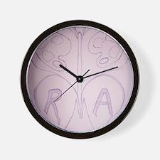HeARTwork for RA Logo Wall Clock
