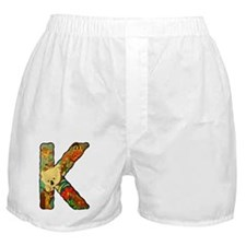 The Letter K Boxer Shorts