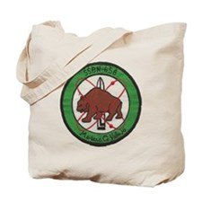 uss mariano g. vallejo patch transparent Tote Bag