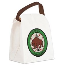 uss mariano g. vallejo patch tran Canvas Lunch Bag