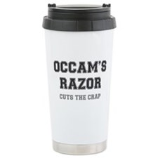 OCCAMS RAZOR - CUTS THE CRAP Travel Mug