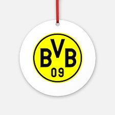 Borussia Dortmund Round Ornament