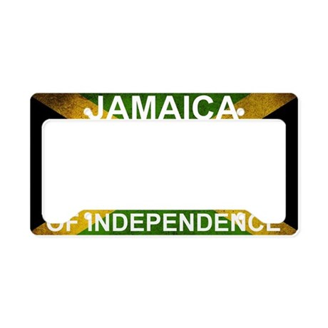 50Year Flag License Plate Holder