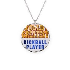 World's Greatest Kickball Pl Necklace