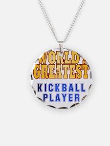 World's Greatest Kickball Pl Necklace