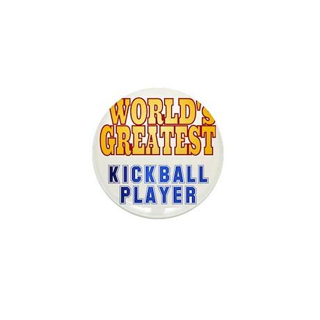 World's Greatest Kickball Player Mini Button