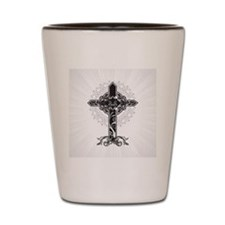 Beautiful Cross Shot Glass