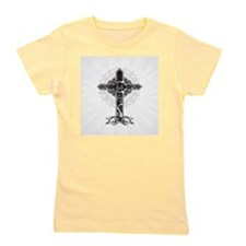 Beautiful Cross Girl's Tee