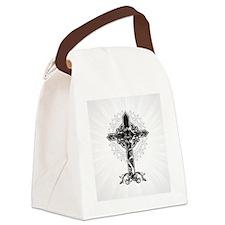 Beautiful Cross Canvas Lunch Bag