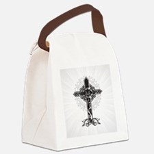 Beautiful Cross Canvas Lunch Bag