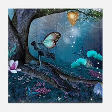 Enchanted Forest Tile Coaster