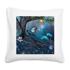 Enchanted Forest Square Canvas Pillow