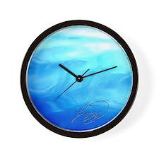 OCEAN BLUE ~ SIGNATURE * Wall Clock