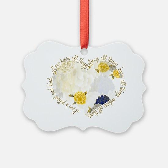 heartflowers3 Ornament