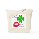 Kiss Me, I'm Irish Tote Bag