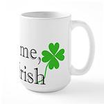 Kiss Me, I'm Irish Large Mug