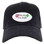 Kiss Me, I'm Irish Black Cap