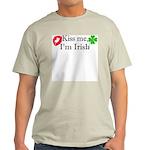 Kiss Me, I'm Irish Light T-Shirt