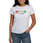 Kiss Me, I'm Irish Women's T-Shirt