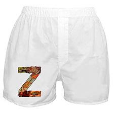 The Letter Z Boxer Shorts