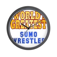 World's Greatest Sumo Wrestler Wall Clock