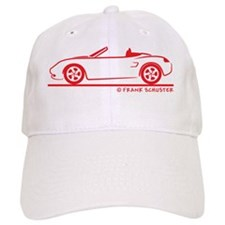 Boxter Open_red Baseball Cap