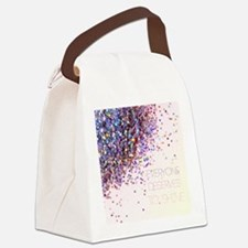 Everyone Deserves To Shine Glitte Canvas Lunch Bag