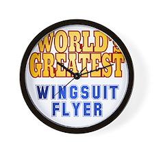 World's Greatest Wingsuit Flyer Wall Clock