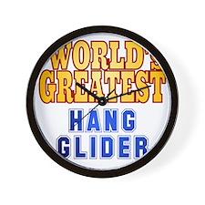 World's Greatest Hang Glider Wall Clock